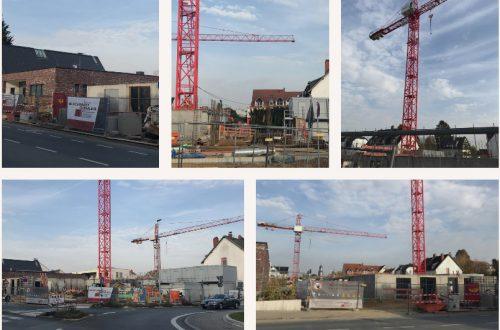 Baustelle Hausgemeinschaften Eschborn