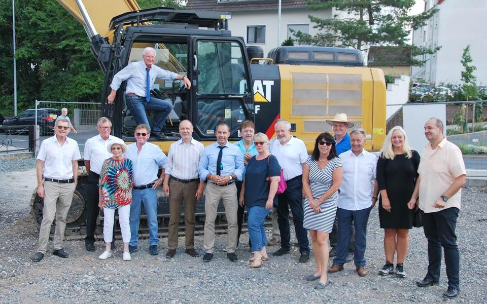 Spatenstich für Cordian Hausgemeinschaften in Eschborn