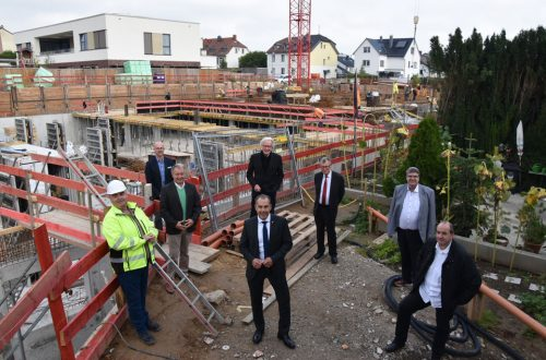 Baustellenbesichtigung Hausgemeinschaften Eschborn
